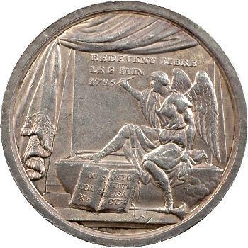 Louis XVII, la mort de Louis XVII, par Loos, 1795 Berlin