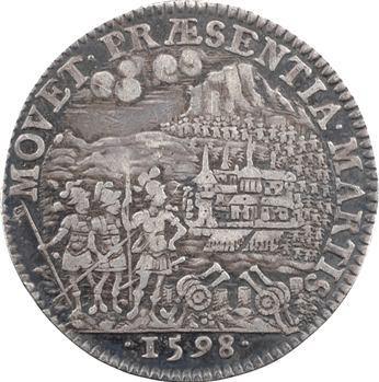 Picardie, Amiens (ville d') (et Conseil du Roi), Henri IV, 1598 Paris