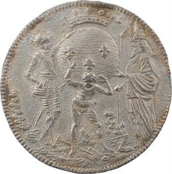 Constitution, Réunion des États Généraux, médaille des Trois Ordres, 1789 Paris