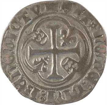 Charles VII, blanc au briquet, 1er type, Dijon