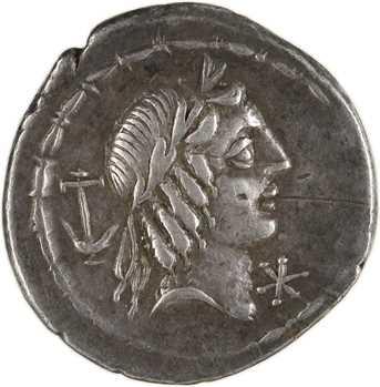 Calpurnia, denier, Rome, 90 av. J.-C