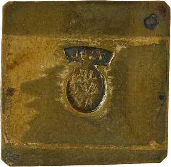 Espagne, poids uniface par Jose Menaya, XIXe-XXe s