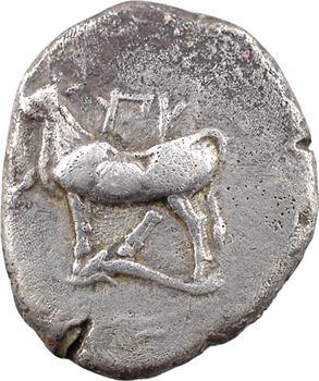 Thrace, Byzance, drachme de poids persique, c.350 av. J.-C
