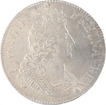 Louis XIV, écu aux insignes, réformation, 1701 Paris