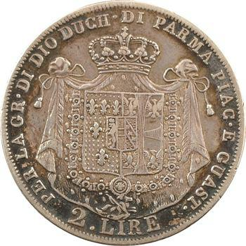 Italie, Parme (duché de), Marie-Louise, 2 lire, 1815 Milan