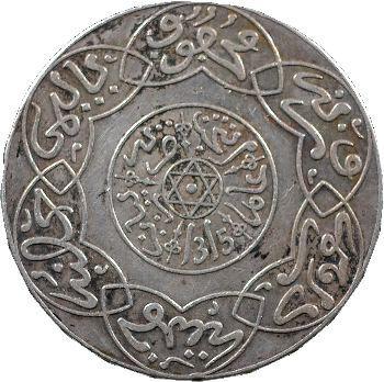 Maroc, Abdül Aziz I, 5 dirhams, AH 1315 (1897) Paris