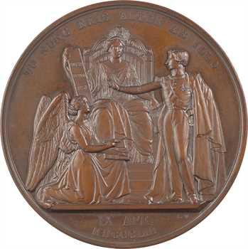 Belgique, la majorité du duc de Brabant, par L. Wiener, dans sa boîte (à Mgr Delebecque), 1853 Bruxelles