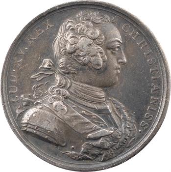 Louis XV, promotion de chevaliers de l'Ordre du Saint-Esprit, par Roëttiers, 1724 Paris