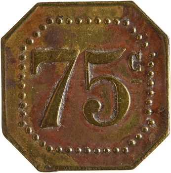 Tunisie, 75 centimes L. Gabis à Tunis, s.d