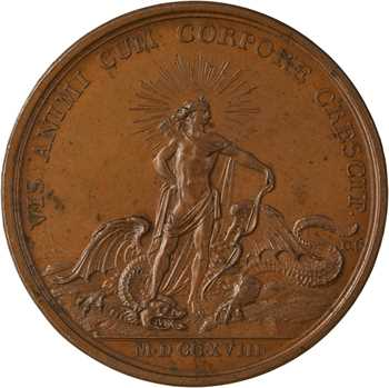 Louis XV, les progrès du Roi, 1718 Paris