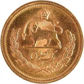 Iran, Reza Shah, un pahlavi, SH 1354 (1975)