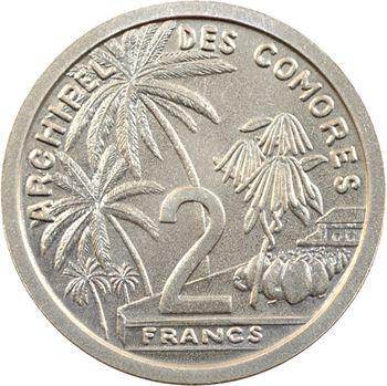 Comores, essai de 2 francs, 1964 Paris