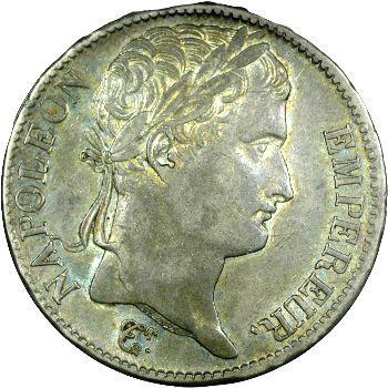 Premier Empire, 5 francs Empire, 1812 Rouen