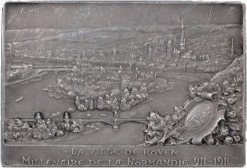 IIIe République, millénaire de la création du Duché de Normandie, 1911 Paris