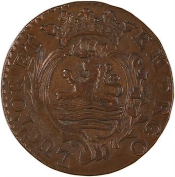 Pays-Bas, Zélande, duit, 1791