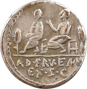 Calpurnia, denier, Rome, 100 av. J.-C.