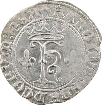 Charles VIII, dizain karolus, Troyes