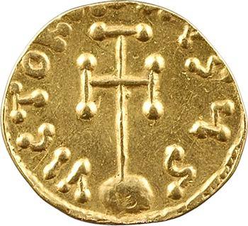Léontius, semissis, 695-698, Constantinople