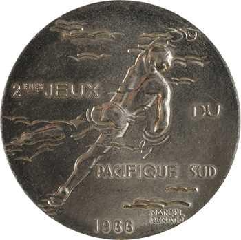 Nouvelle-Calédonie, 2èmes jeux du Pacifique Sud à Nouméa, par Renard, 1966 Paris
