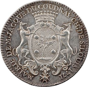 Orléanais, Orléans (mairie d'), Jacques du Coudray, maire, 1771 Paris