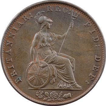 Royaume-Uni, Victoria, half penny, 1852 Londres