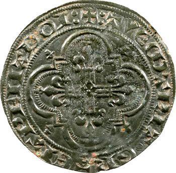 Jeton de compte, au type du double d'or de Philippe VI