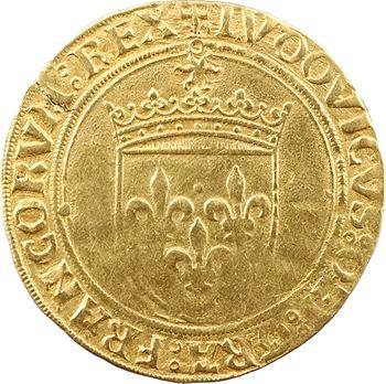 Louis XII, écu d'or au soleil (DEI GRA), Châlons-en-Champagne