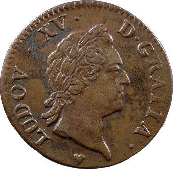 Louis XV, sol à la vieille tête, 1770 Strasbourg