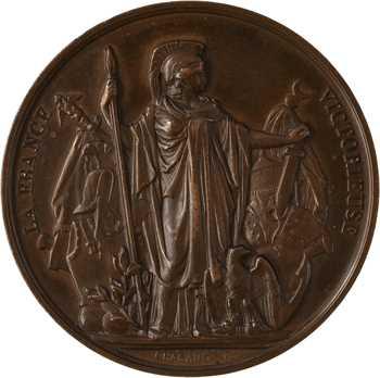 Second Empire, J.-C. Langlois, peintre de panoramas historiques, s.d. Paris