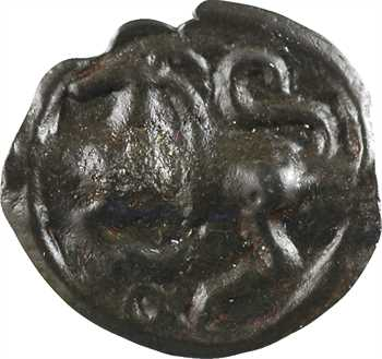 Séquanes, potin au quadrupède, c.60-50 av. J.-C.