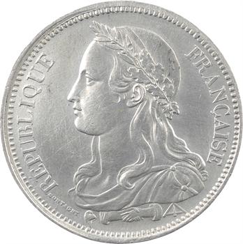 IIe République, concours de 5 francs par Montagny, 1848 Paris