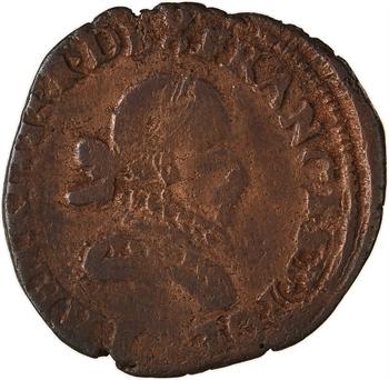 Henri III, double tournois 1er type, 1579 Bordeaux