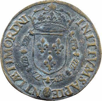 Henri III, jeton INITIVM etc., s.d.