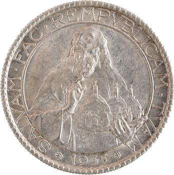 Saint Marin, 20 lire, 1935 Rome