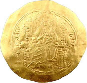 Jean II, hyperpyron d'or, Constantinople, 1118-1143