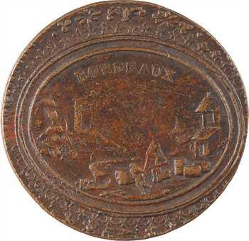 Directoire, Bordeaux (ville de), jeton pour la République, s.d. (c.1795 ?)