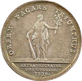 Extraordinaire des guerres, Louis XV, 1728