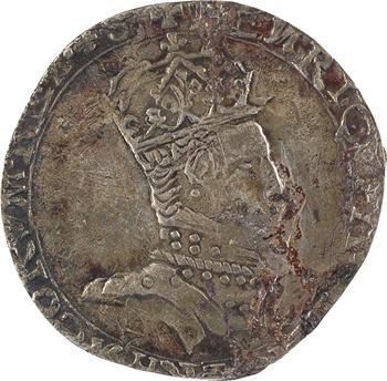 Henri II, teston à la tête couronnée, FAUX D'ÉPOQUE, [1559 Toulouse]