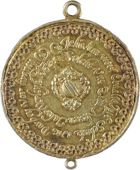 Allemagne, Strasbourg (ville de), médaille de nouvel An, 1648 Strasbourg