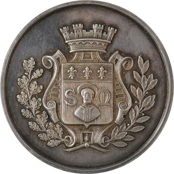 IIIe République, médaille de mariage au Saint Régis, 1899 Paris