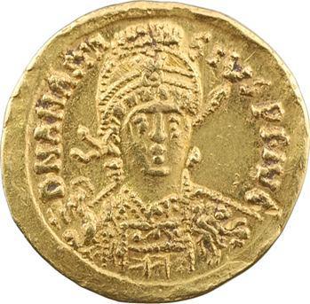 Anastase, solidus, Constantinople, 1re officine, 491-498