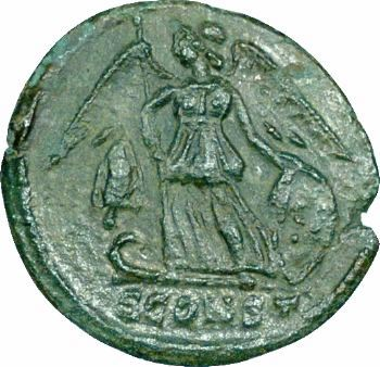 Constantinopolis, nummus, Arles, 335