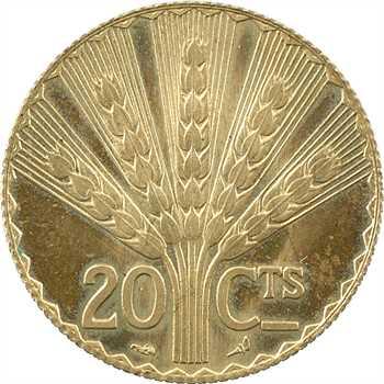 Uruguay, essai de 20 centimes (centesimos) par Turin, 1930 Paris