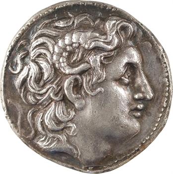 Thrace, Lysimaque, tétradrachme, Magnésie, c.297-281 av. J.-C.