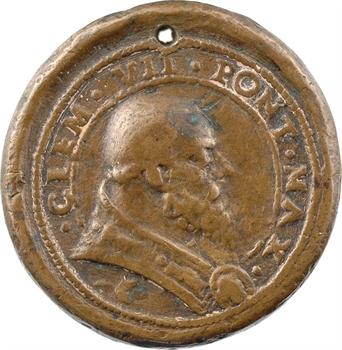 Vatican, Clément VII, son affection pour les Florentins, fonte par Castelbolognese, s.d