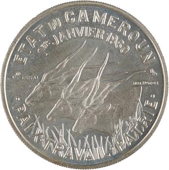 Cameroun, essai 50 de francs, 1960 Paris