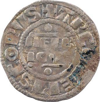 Champagne, Reims (archevêché de), Henri II, denier, s.d. (1227-1240) Reims