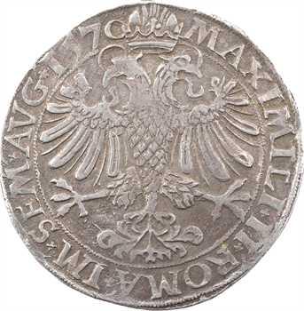 Cambrai (archevêché de), Maximilien de Berghes, thaler, 1570 Cambrai