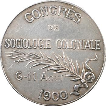 IIIe République, Congrès de sociologie coloniale, 1900 Paris