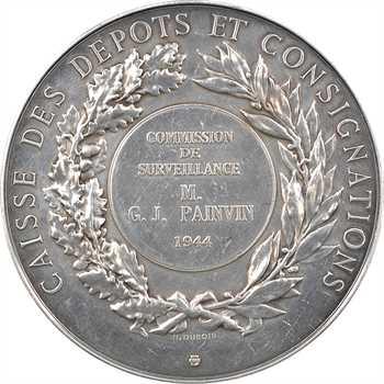 IIe Guerre Mondiale, Caisse des Dépôts et Consignations, par Dubois, 1944 Paris